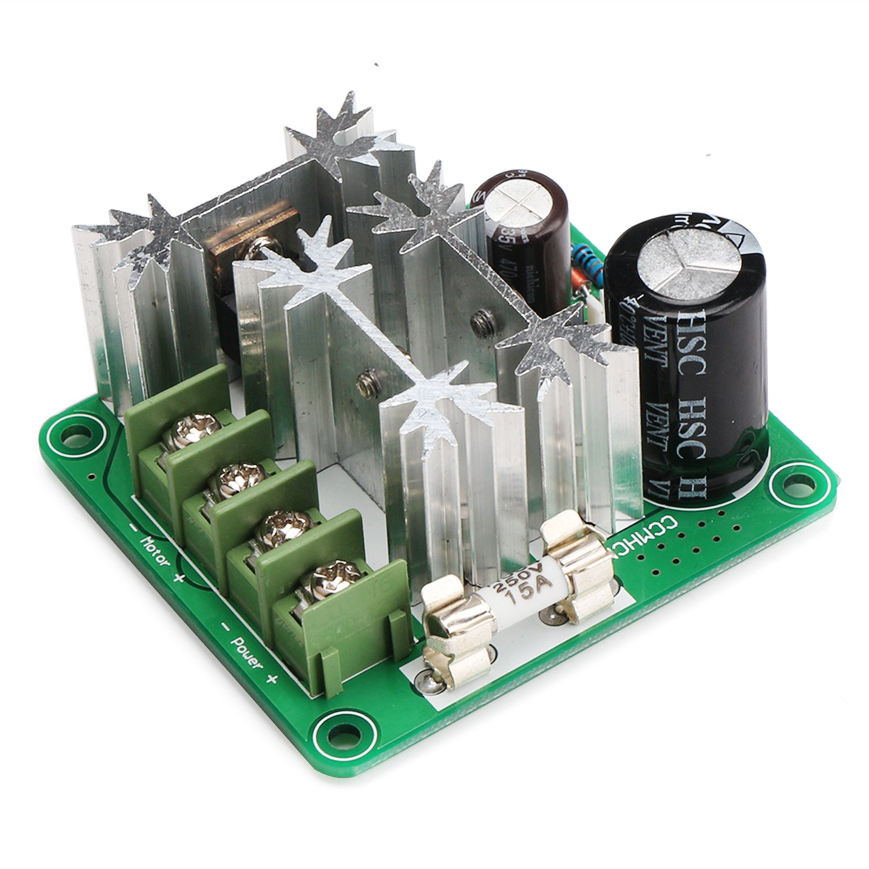 DROK DC Motor Speed Control 6V-90V 15A 1000W 16KHZ PWM Controller 6V ...