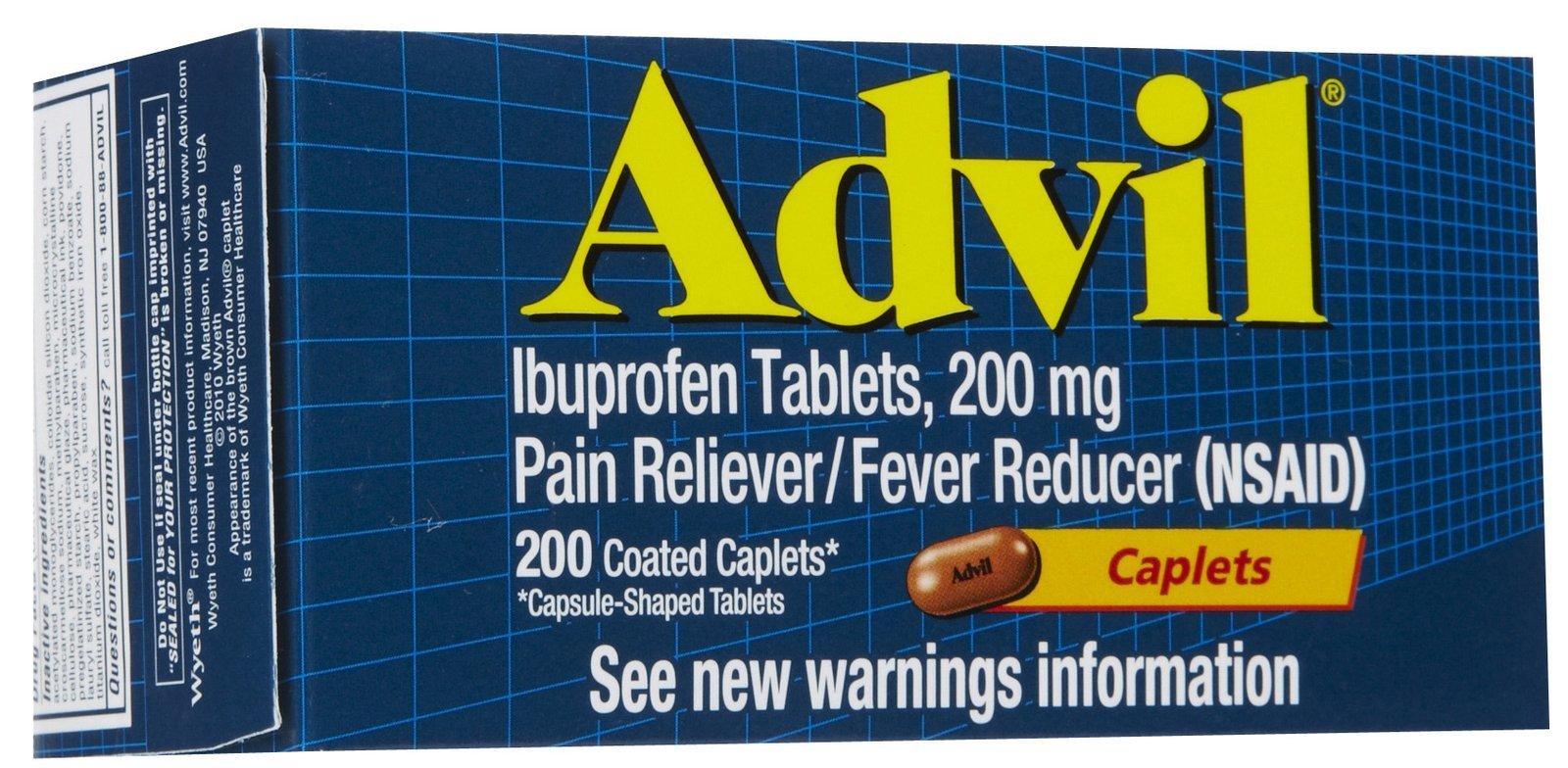Advil Caplets-200ct