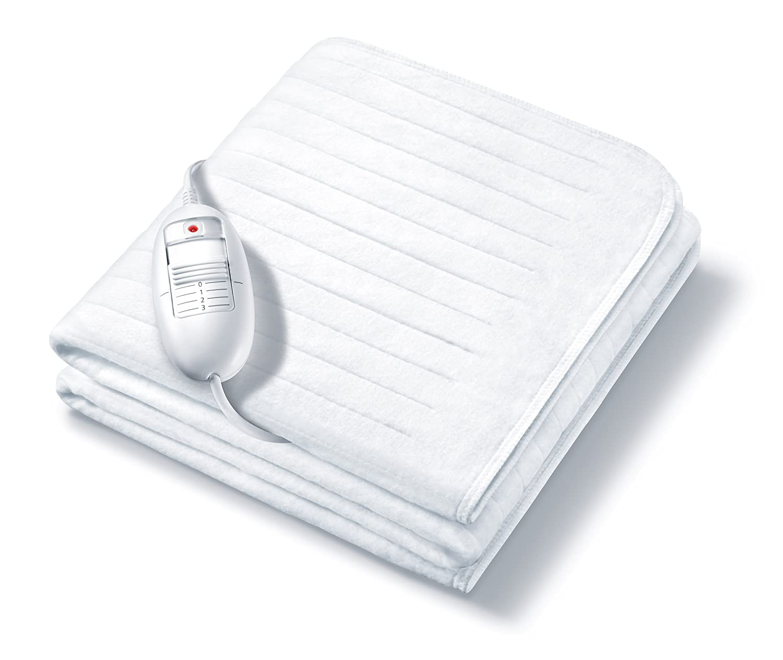Monogram Symphony - Manta eléctrica para cama de matrimonio pequeña: Amazon.es: Hogar