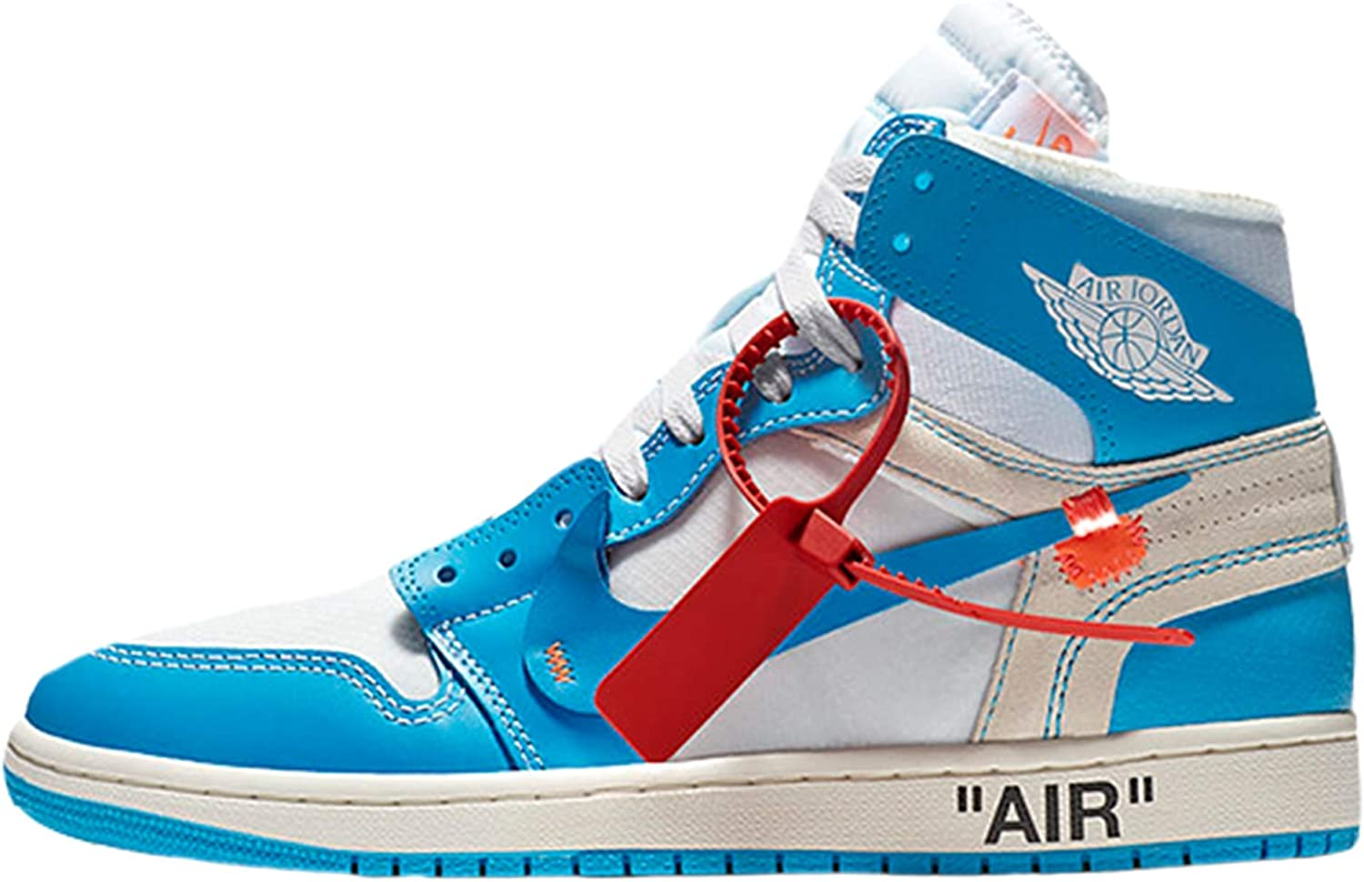 off white air force 1 blue outfit