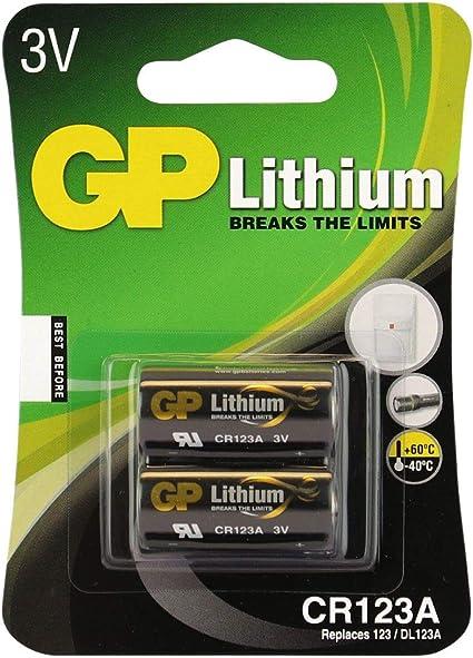 Gp Battery Lithium 3 V Blister Pack Of 2 Recharge Elektronik