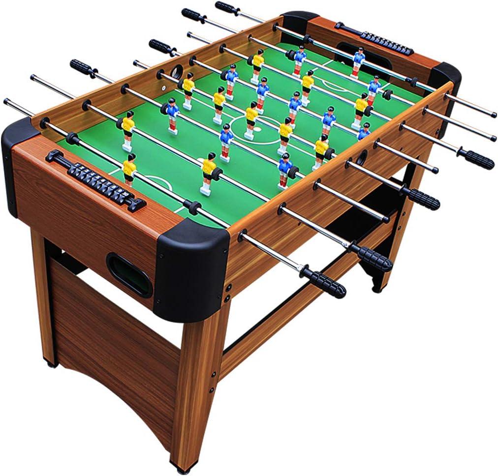 XLOO 8 Juegos de Mesa de futbolín Joystick con 2 Bolas para la Noche de Juegos Familiares - Madera Maciza: Amazon.es: Hogar