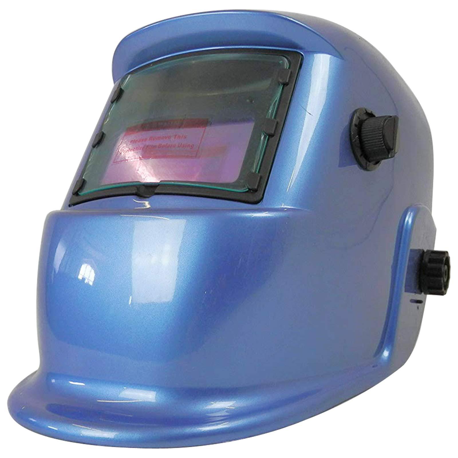 CE Approved Auto Darken Welding /& Grinding Helmet Varioshade Sliver Pattern