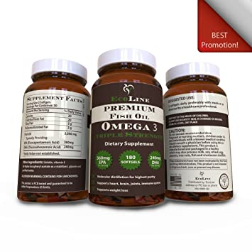 3. Weight loss and Omega 3 fish oil.