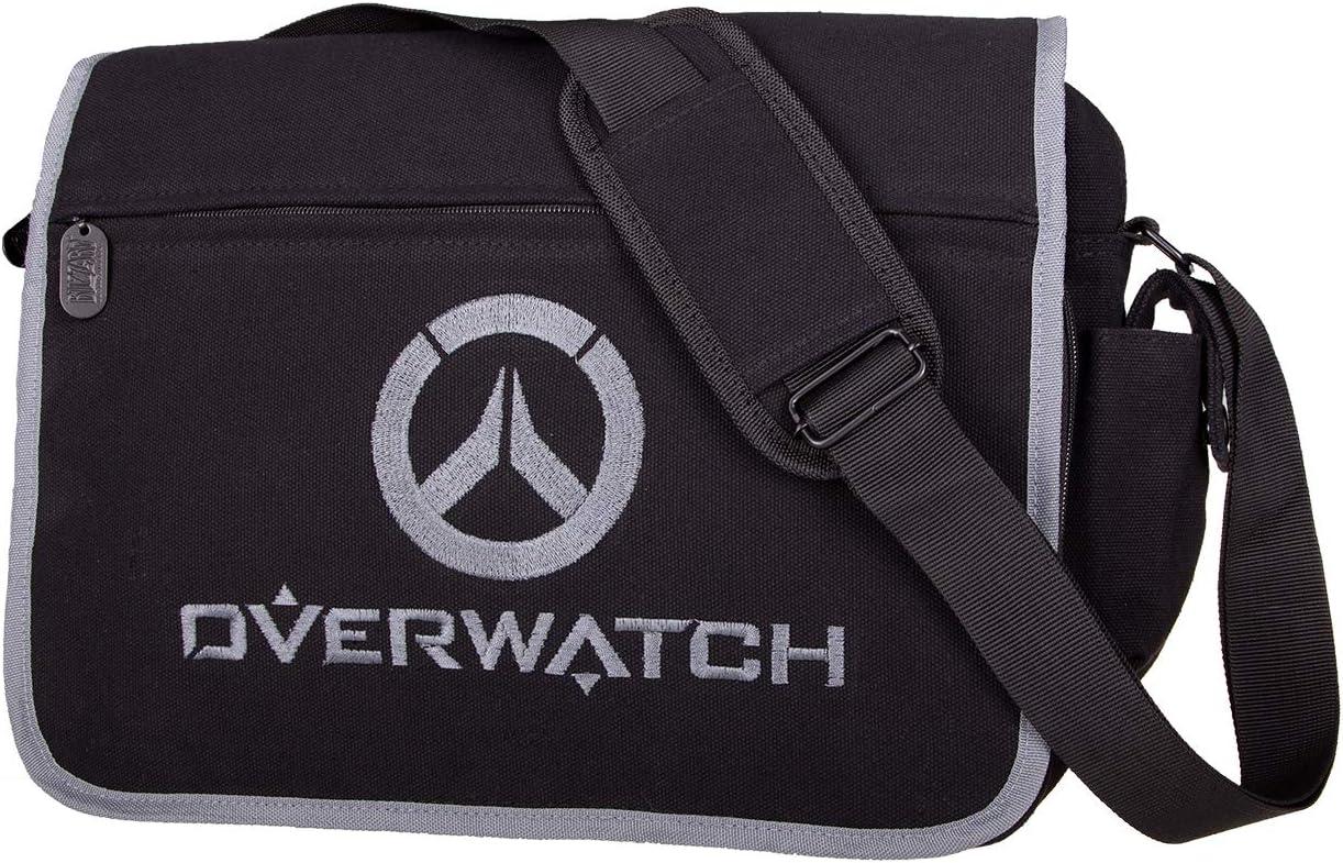Gaya Overwatch Messenger Bag Logo, Black, 80 cm