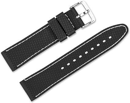 White Silicone Wristband 18 mm Nokia