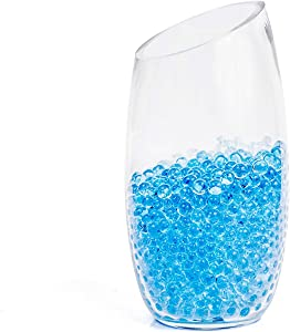 25000 Vase Filler Blue Water Beads for Flowers Center Table Decor,Kids Tactile Sensory Toys,Wedding Centerpieces and Home Decoration