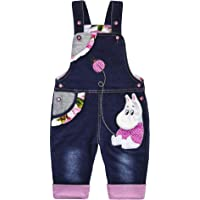 Kidscool Space Baby Cotton 3D Cartoon Soft Knitted Jeans Overalls