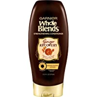 Garnier Hair Care Whole Blends Ginger Recovery Strengthening Conditioner, 12.5 Fl Oz