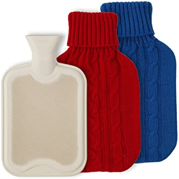 Lily S Home Hot Water Bottle Cramps Pain Reliever Best Home Remedy For Aches Muscular Tension