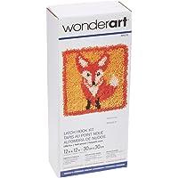 Spinrite Wonderart Kit de Gancho de Cierre, 12 Pulgadas por 12 Pulgadas, Little Fox