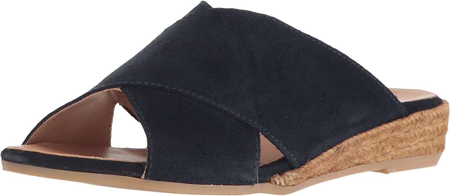 Eric Michael Women's Brooklyn Slide B01KZCCYOM 37 M EU / 6.5-7 B(M) US|Navy