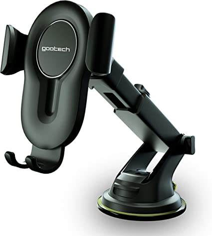 Arkon Adhesive Car Phone or Midsize Tablet Holder Mount for Samsung Galaxy S10 S9 S8 Note 9 8 Retail Black