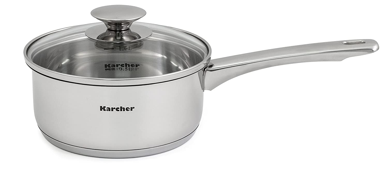 Karcher Jule Bater/ía de Cocina 22 cm 11 Unidades Acero Inoxidable