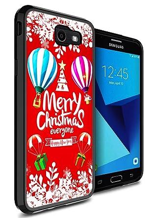 Amazon.com: Galaxy J7 Sky Pro Funda Lotus, gifun Slim negro ...