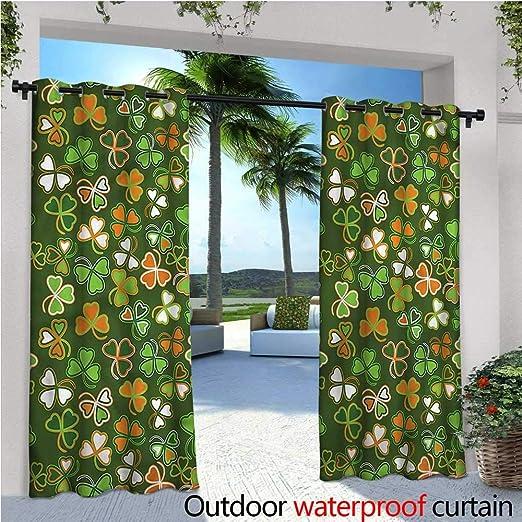 Cortina de privacidad para pergola con muelles y pájaros, Aislante térmico, Repelente al Agua, para balcón: Amazon.es: Jardín