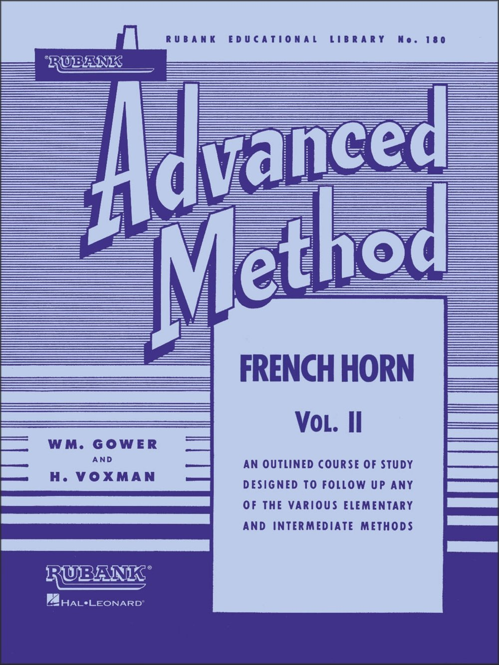 Download Rubank Advanced Method - French Horn in F or E-flat, Vol. 2 PDF