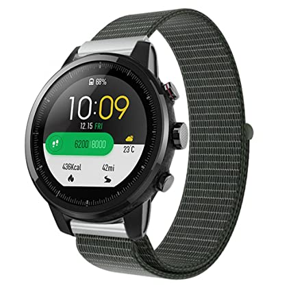Amazon.com: Cywulin Nylon Sports Band for Xiaomi Huami ...