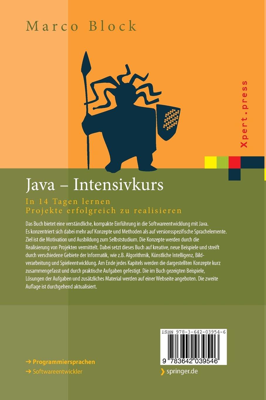 Java-Intensivkurs: In 14 Tagen lernen Projekte erfolgreich zu ...