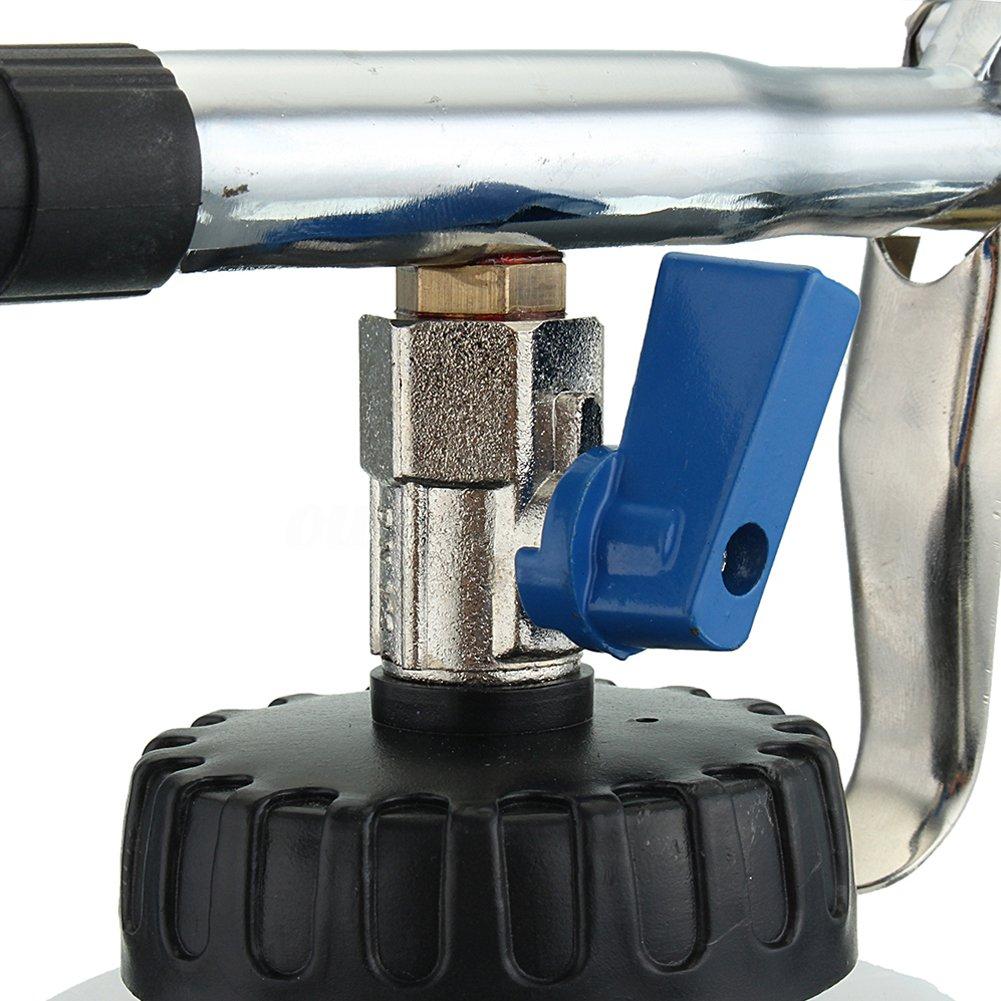 pistola auto interior lavatrice Air Pulse apparecchiature ad alta pressione con schiuma pulizia ugello spruzzatore bottiglia superficie interna esterna strumento di pulizia bianco Auto pulizia