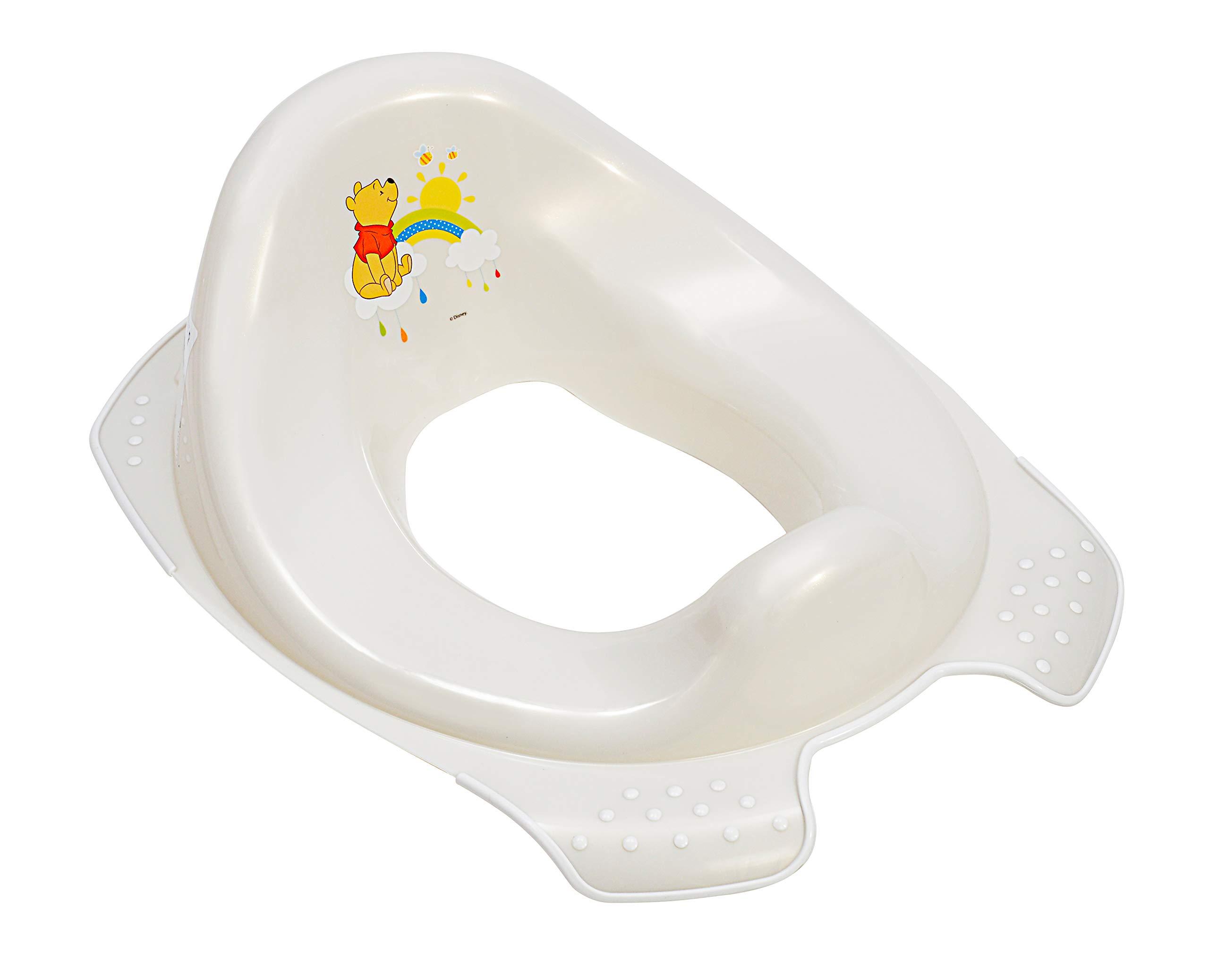 Premium Kinder-Toilettensitz Funny Farm aquamarin f/ür Kleinkinder stabiler WC-Sitz mit Anti-Rutsch-Funktion