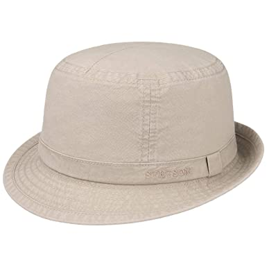 Stetson Gander Cloth Trilby bucket hat  Amazon.co.uk  Clothing 721aad491b4