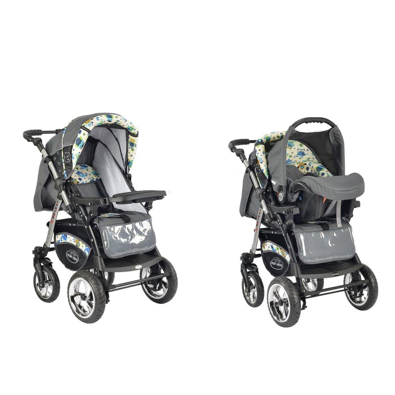 Carrito de bebé Baby Merc Junior Twist color búhos: Amazon ...
