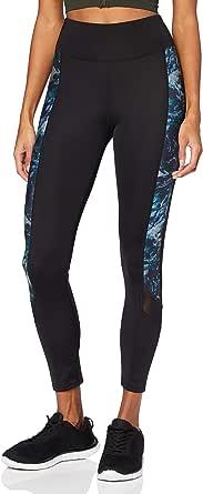 AURIQUE Amazon Brand Women's Printed Side Panel Sports Leggings