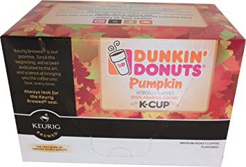 Amazoncom Dunkin Donuts KCups Pumpkin Flavor 24 Count by Dunkin
