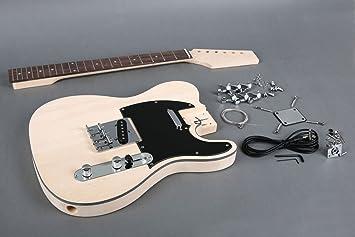 Luz peso del Pantano de fresno tele-style Kit de guitarra eléctrica: Amazon.es: Instrumentos musicales