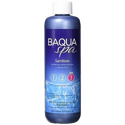 Baqua Spa 88855 Chlorine-Free Sanitation for Spas and Hot Tubs, 16 fl oz, Clear : Garden & Outdoor