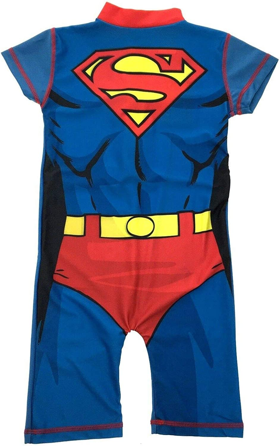 United Labels AG Baby Toddler Young Boys Licenced Superhero Sunsuit Swimsuit Sun Protection Fabric UPF Protection 50+ Ultra Violet Protection