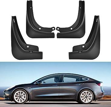 TOPlight Tesla Model 3 Mud Flaps Splash Guards 4Pcs Set Full Protection Mud Flaps for Tesla Model 3 Accessories