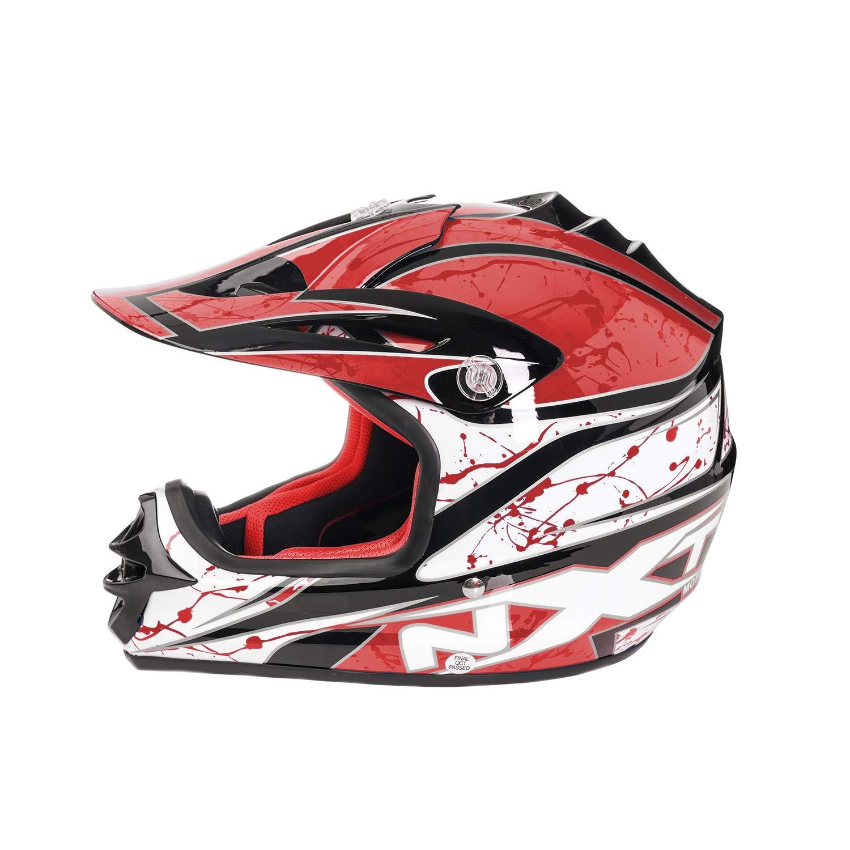 Amazon.es: MXT Casco de moto para niños, motocicleta, scooter, motocicleta, scooter, motocicleta, casco de motocicleta, protección completa de Childern - 4 ...