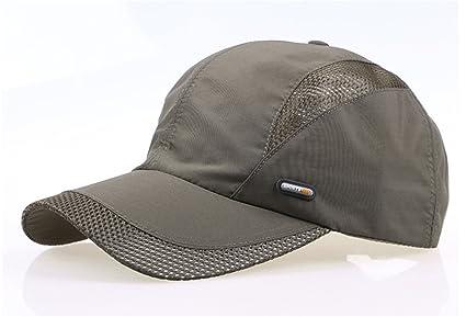 56c4f5167a5 Miki Da Spring Men and women snapback cap quick dry summer sun hat visor  Hip-