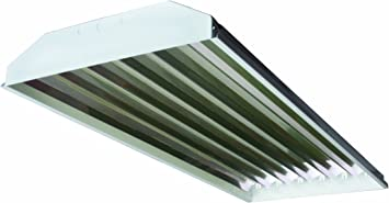 WAREHOUSE SHOP 6 LAMP T5 CURVED PROFILE HIGH OUTPUT FLUORESCENT HIGH BAY
