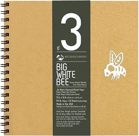 Bee Paper Company Grand Blanc Abeille Bloc De Dessin Noir