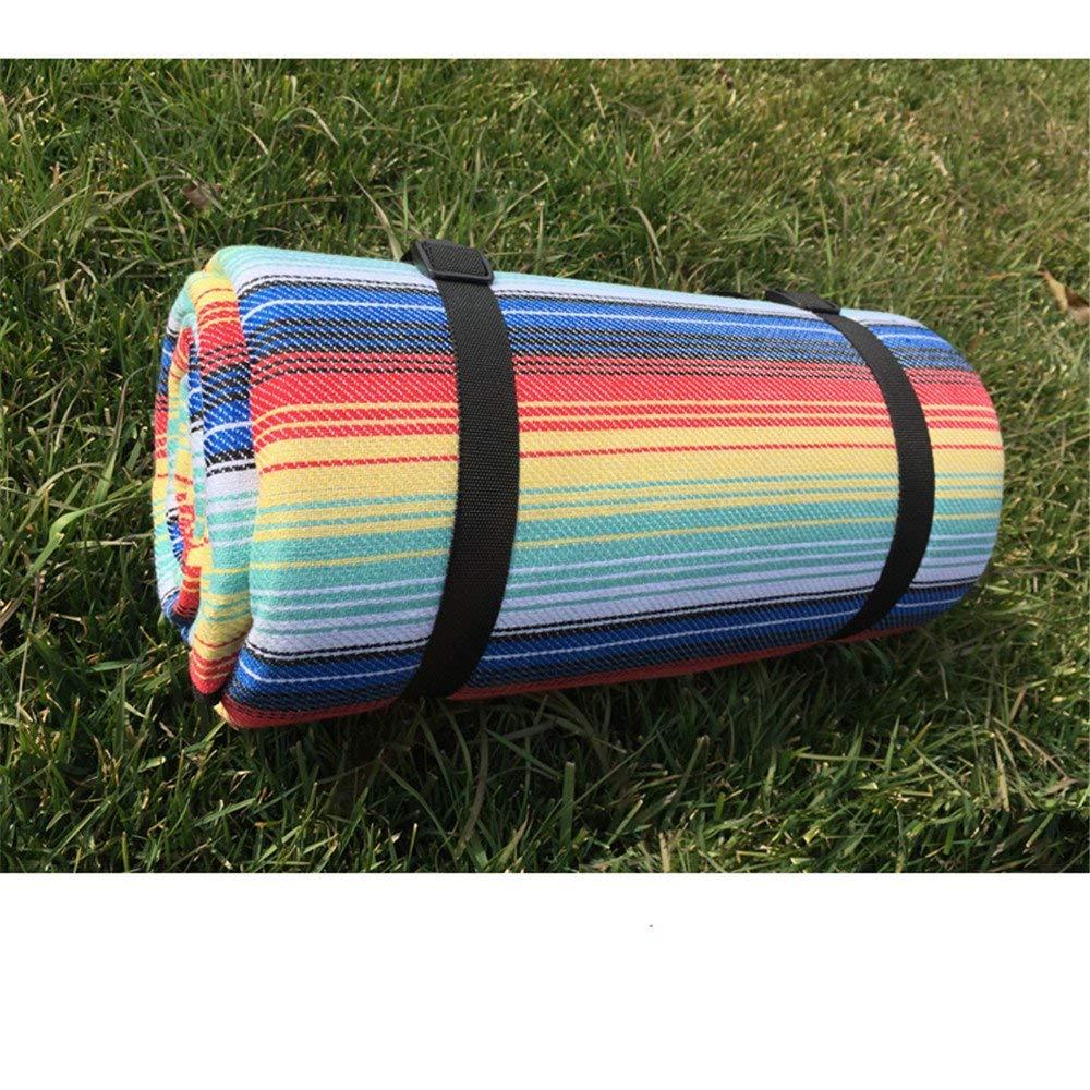 ピクニック毛布 屋外のピクニック水分パッド厚い増加キャンプテントキャンプポータブルピクニックマット布   B07S3GRB6H