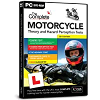 The Complete Motorcycle Theory and Hazard Perception Tests 2017/18 Edition (Dts)