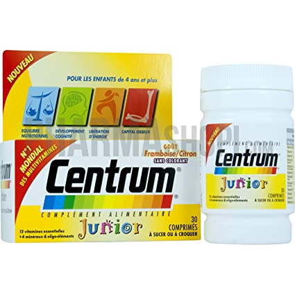 Centrum Junior 30 comprimés Pfizer
