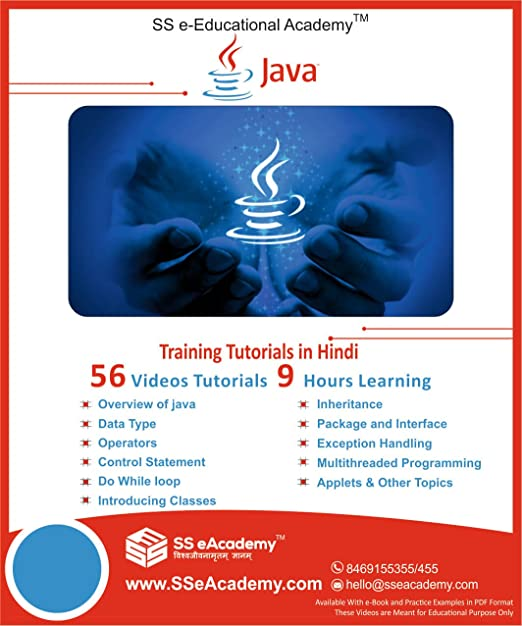 Basic to Advance Level of JAVA Tutorials in Hindi (35 Videos