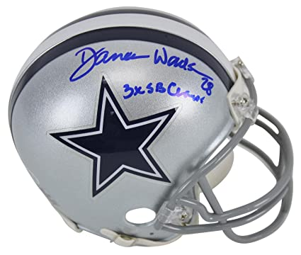 """c1cff444 Image Unavailable. Image not available for. Color: Cowboys Darren  Woodson""""3x SB Champ!"""