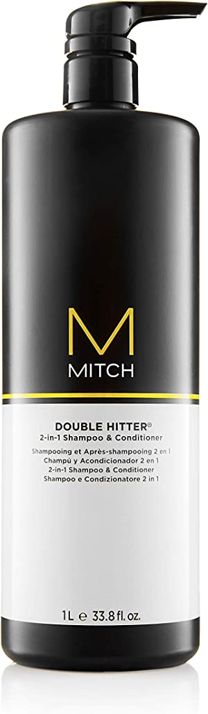 Mitch Double Hitter 2 in 1 Shampoo and Conditioner
