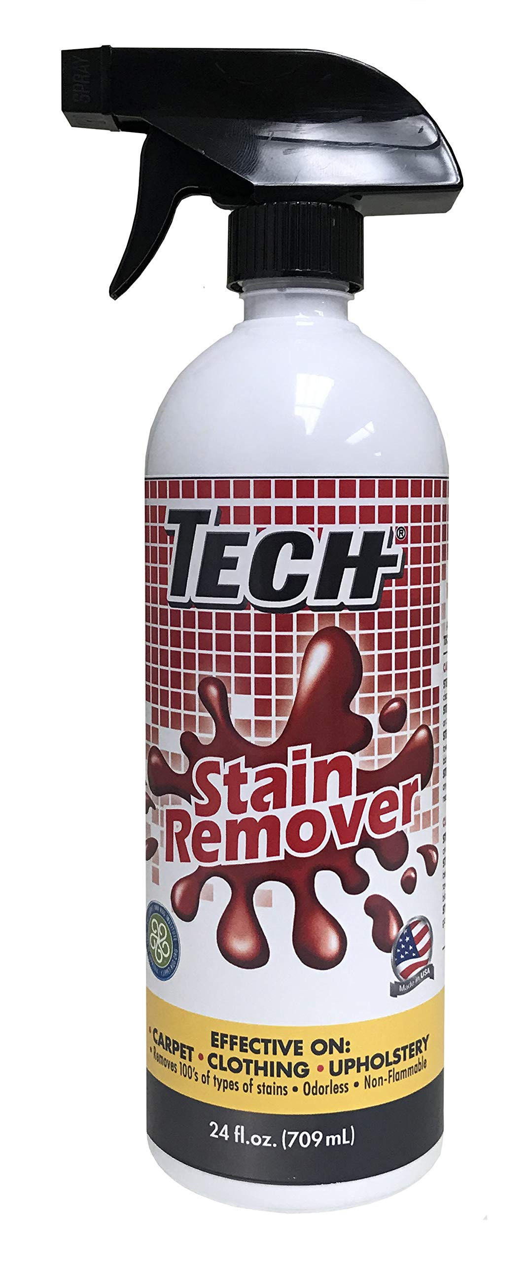 TECH Stain Remover - 24 ounce, Pack of 6