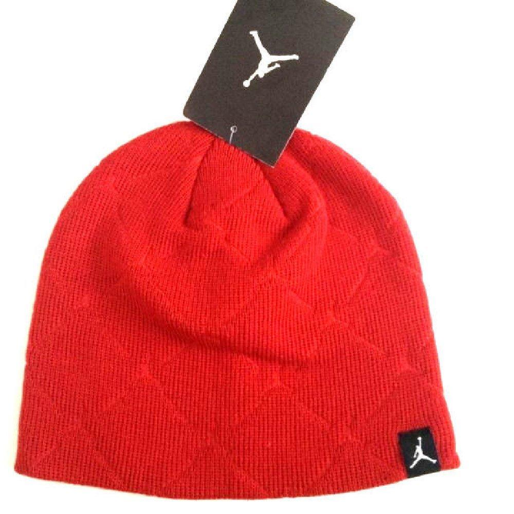 Nike Jordan Jumpman Boy's Hat Fits Size 8-20 Red