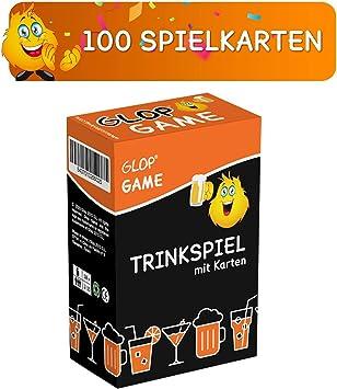 Trinkspiel Brettspiel Spieleabend Saufspiel Partyspiel Kartenspiel Glop Wahrheit 100 Spielkarten