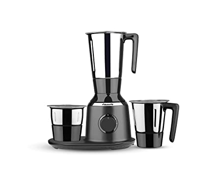 Butterfly Spectra 750-Watt Mixer Grinder with 3 Jars (Black) Mixer Grinders at amazon