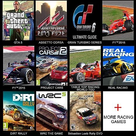 XFUNY - Rueda de Carreras de Doble Motor para PS3, PS4, Xbox One, Xbox 360, NS, Switch, PC, Android, con Pedales, Cambio de Marchas, Color Negro: Amazon.es: Hogar