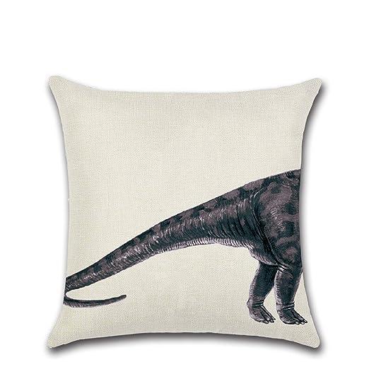 JINGXINSTORE Tiburón ballena elefante dinosaurio Algodón ...