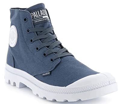 Palladium Men\'s Pampa HI Blanc Boots, Blue, 12 US: Amazon.com.au ...